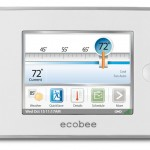 Ecobee smart learning thermostat