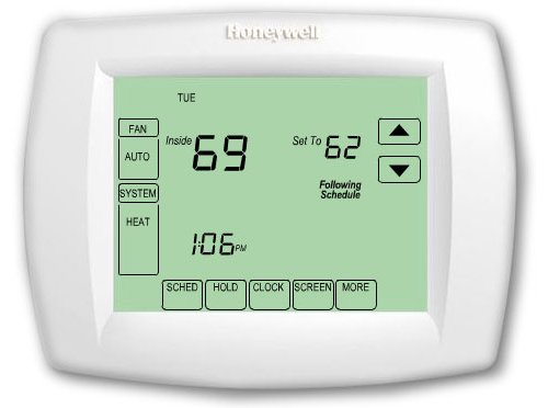 Honeywell TH8110U1003 Vision Pro 8000 Digital best thermostat find the best smart programmable thermostat honeywell 8000 thermostat wiring diagram at nearapp.co