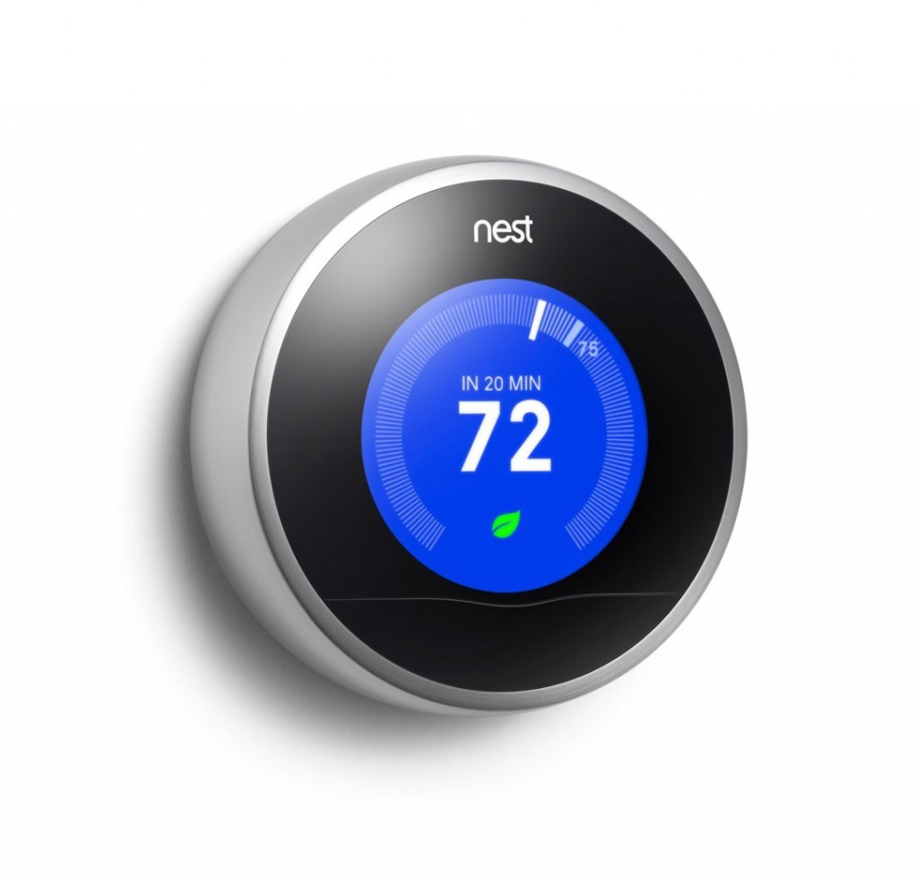 Thermostat with remote control reviews 4 remote control thermostats - Nest thermostat stylish home temperature control ...