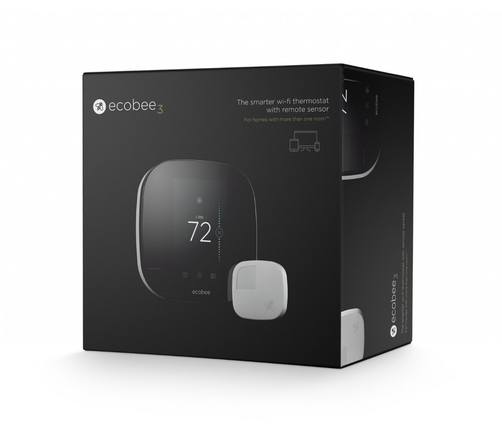 Ecobee 3 Smarter Wi-Fi Thermostat With Remote Sensor4