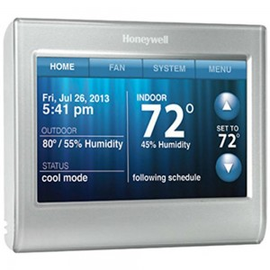 Honeywell smart wifi touch screen thermostat