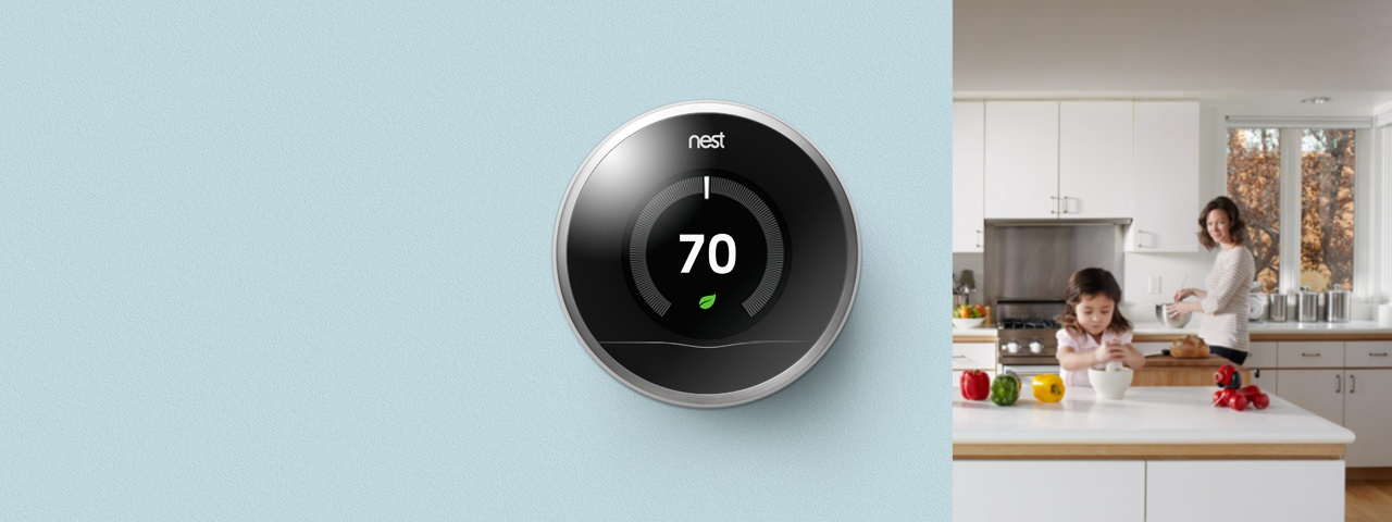 Nest  wifi smart Thermostat