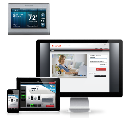 Honeywell wifi smart thermostat