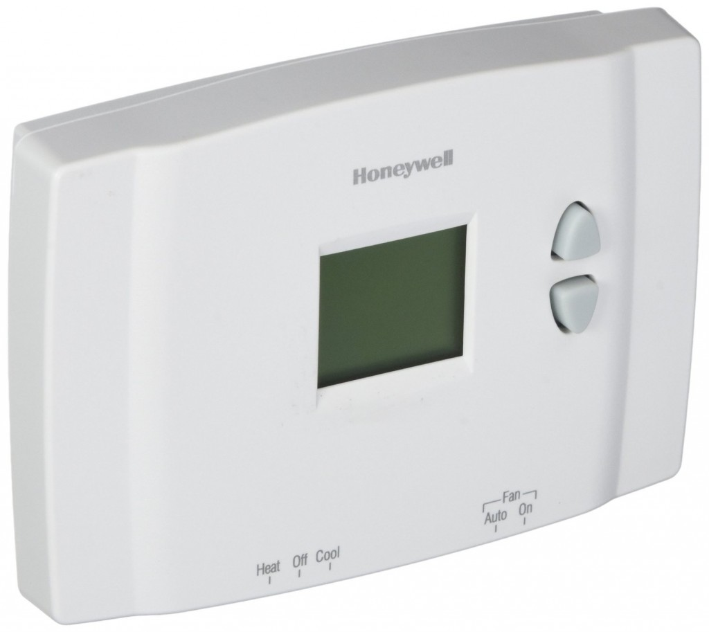 honeywell non pogrammable digital thermostat