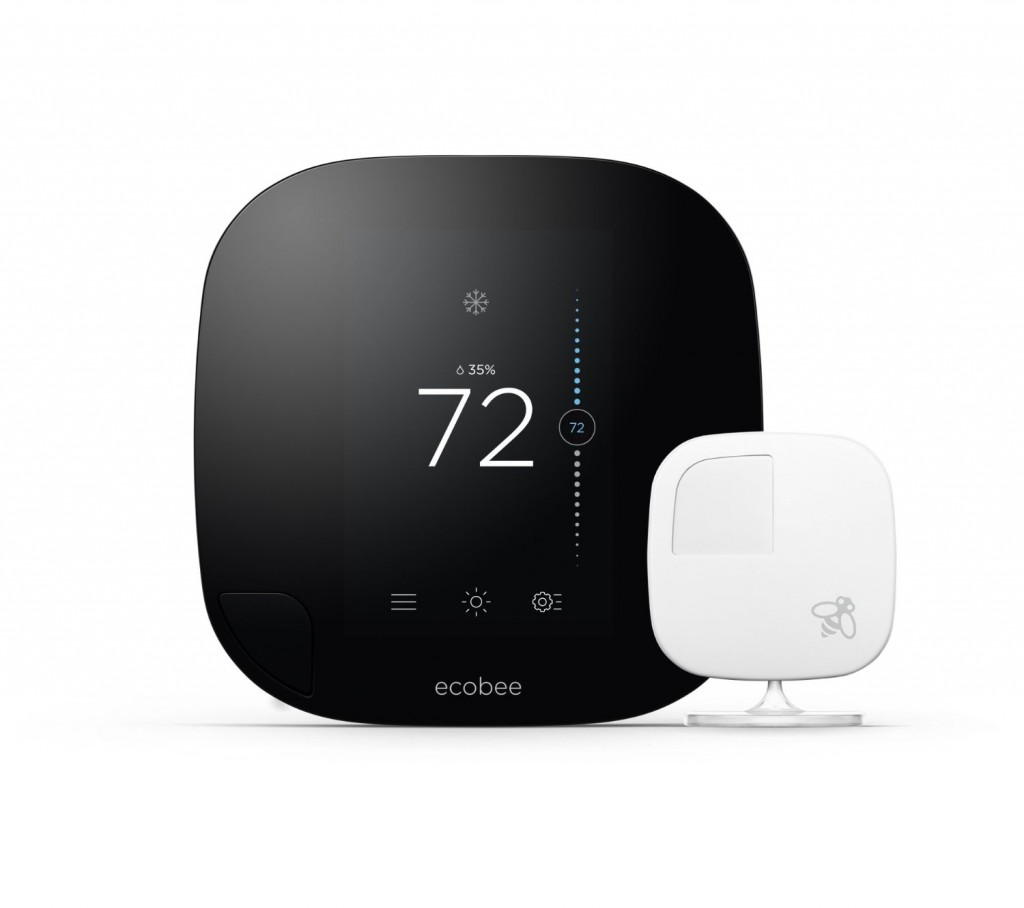 Ecobee 3 Smarter Wi-Fi Thermostat With Remote Sensor1