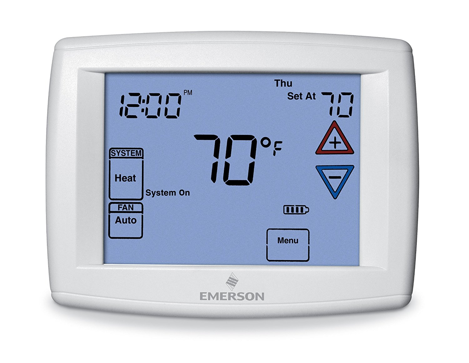 Digital thermostats archives best digital thermostat reviews and emerson 1f95 1277 universal touchscreen 7 day programmable thermostat biocorpaavc Choice Image