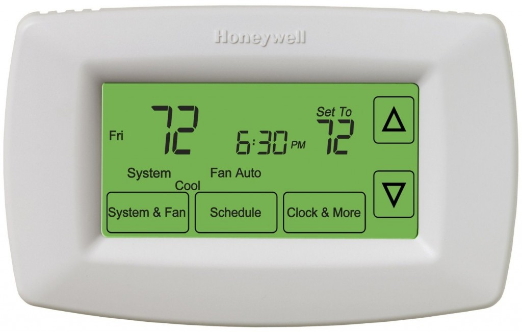 Honeywell RET97C0D1005/U 7-Day Touchscreen Programmable Thermostat