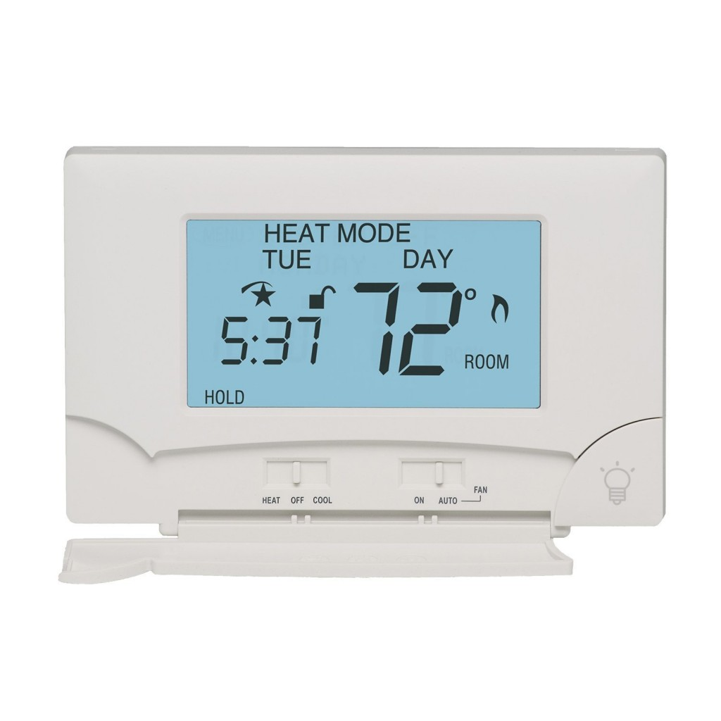 Lux Touch Screen Seven-Day Programmable Thermostat