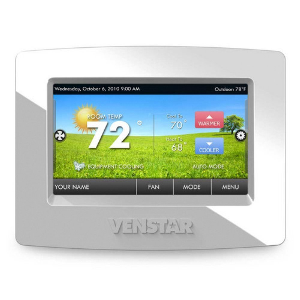Venstar ColorTouch touchscreen thermostat