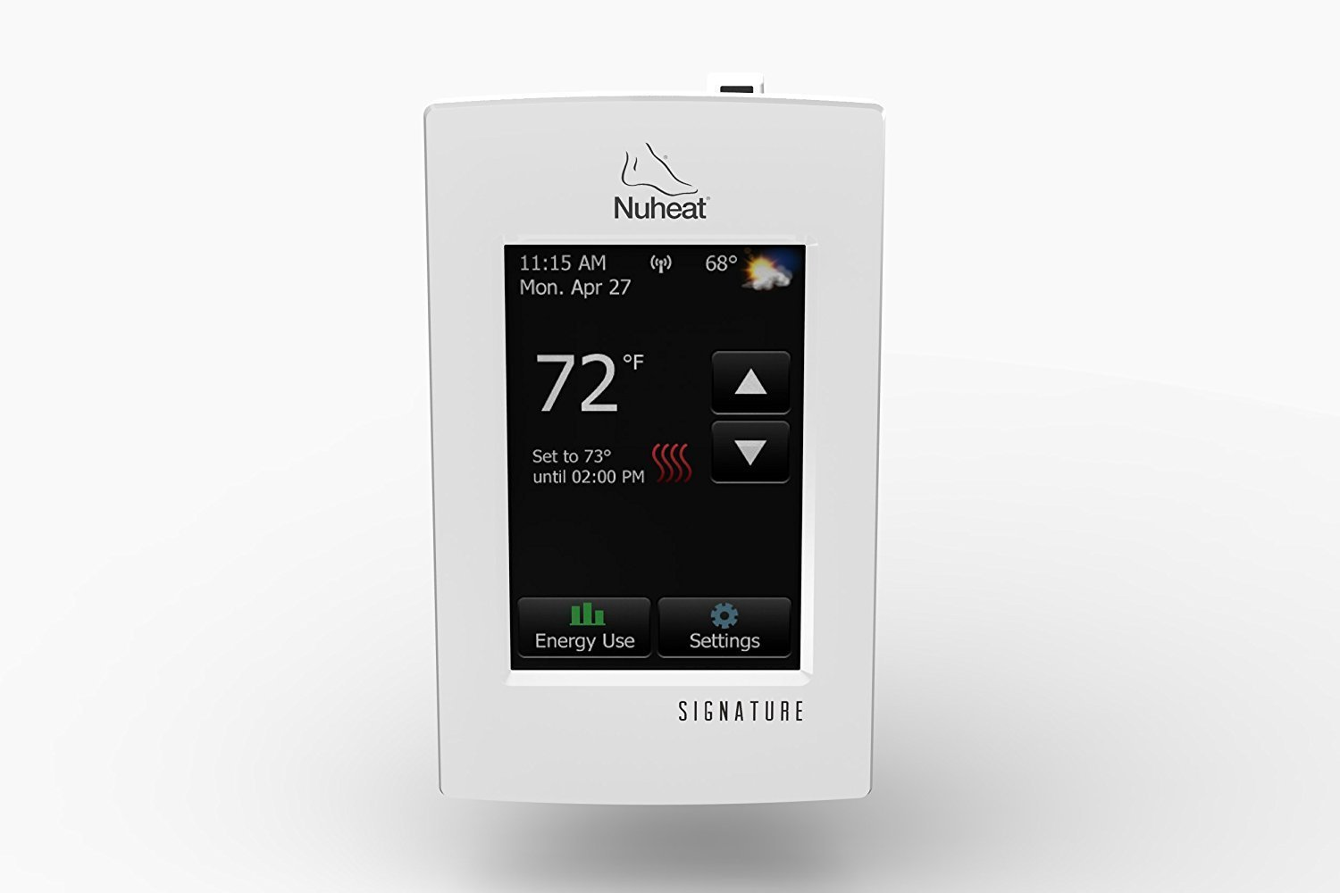 Line Volt Touchscreen Thermostat