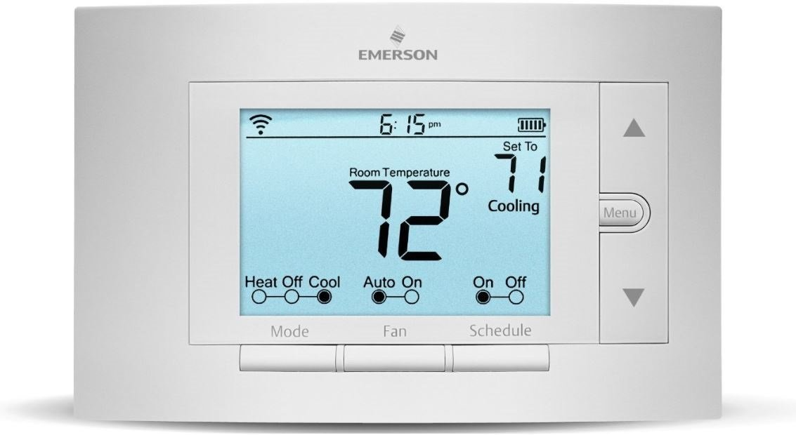 Heat pump smart thermostat