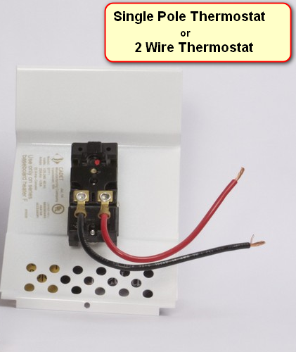 2 wire thermostat