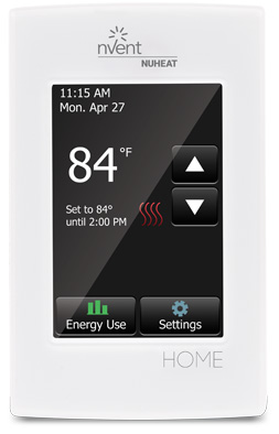 Thermostat for radiant heat